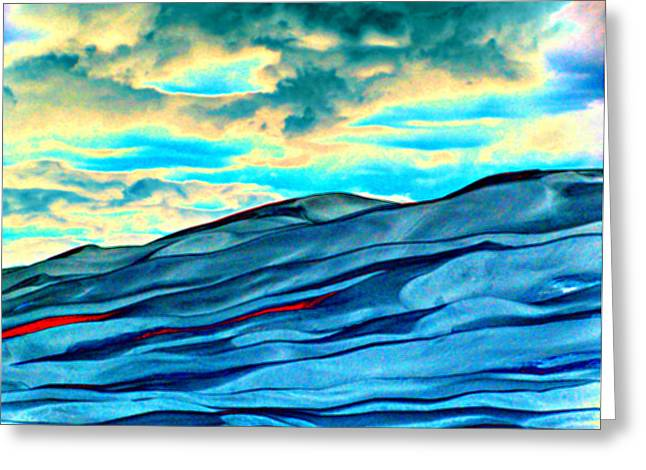 Great Sand Dunes Greeting Card by Daniel Dodd