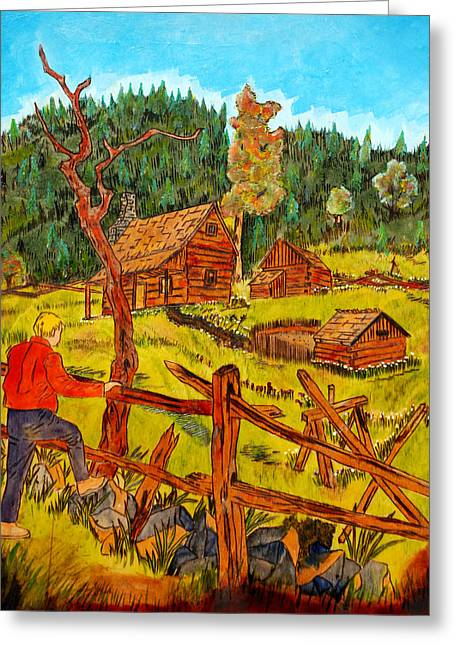 Great Smokey Mtn National Park Greeting Card by Mike Holder