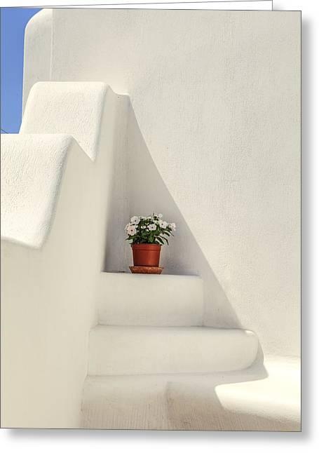 Greece Greeting Card by Joana Kruse