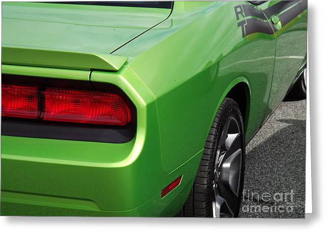 Green With Envy Greeting Card by Chad Thompson