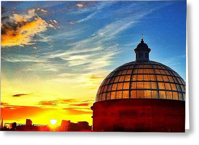 Greenwich In Summer Greeting Card