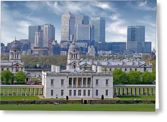 Greeting Card featuring the photograph Greenwich by Rod Jones