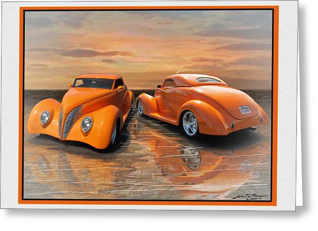 Gregs 39 Ford Greeting Card by John Breen
