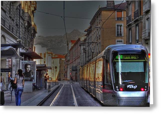 Grenoble Greeting Card