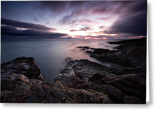 Greystones Dawn Greeting Card