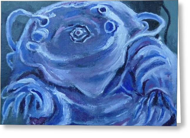 Ground Control To Major Tardigrade Greeting Card by Jessmyne Stephenson