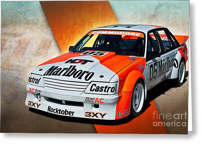 Group C Vk Commodore Greeting Card by Stuart Row