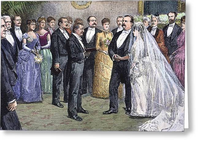 Grover Cleveland: Wedding Greeting Card by Granger