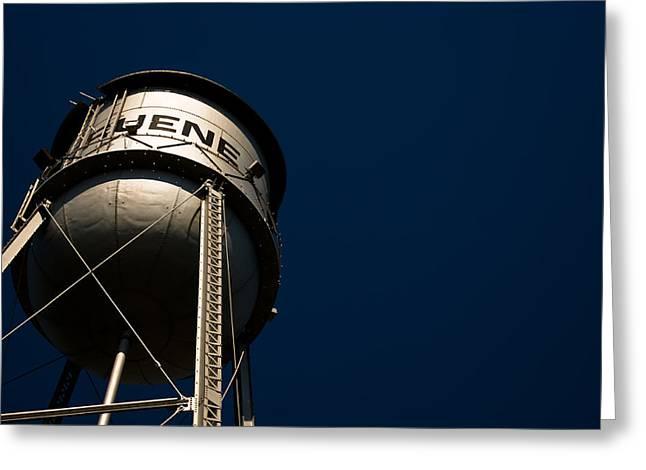 Gruene Water Tower Greeting Card