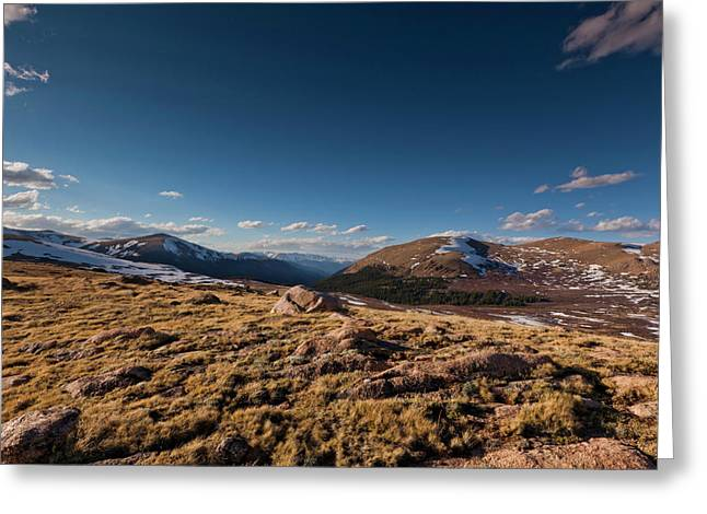 Guanella Pass Colorado Greeting Card by Richard Steinberger