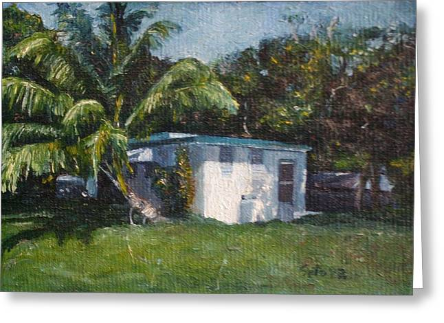 Guest House In Aguada Greeting Card by Victor SOTO
