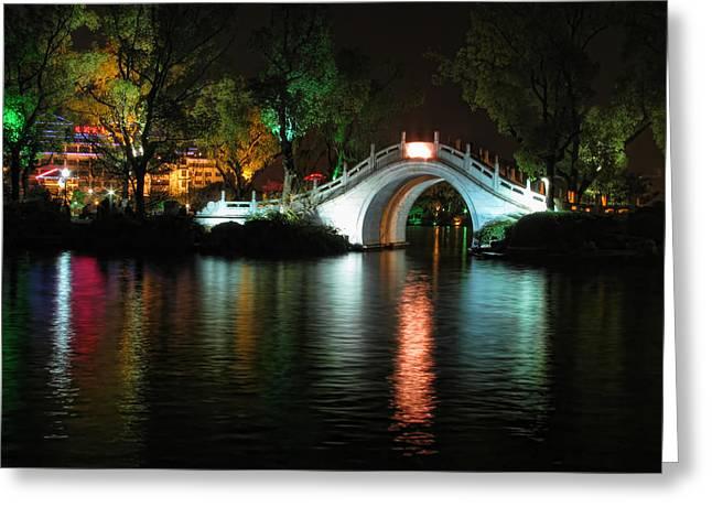 Guilin Bridge Greeting Card