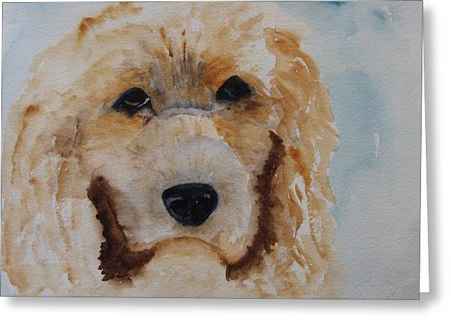 Guiseppi Greeting Card by JoAnne Hessong