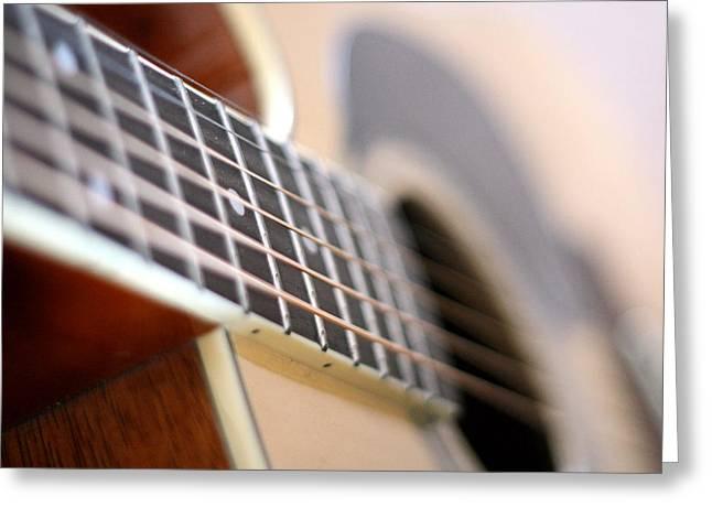 Guitar 1 Greeting Card by James Iorfida