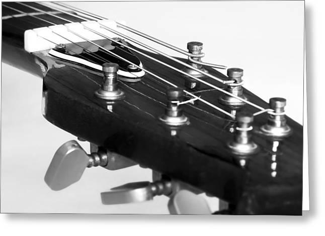 Guitar Greeting Card by Svetlana Sewell