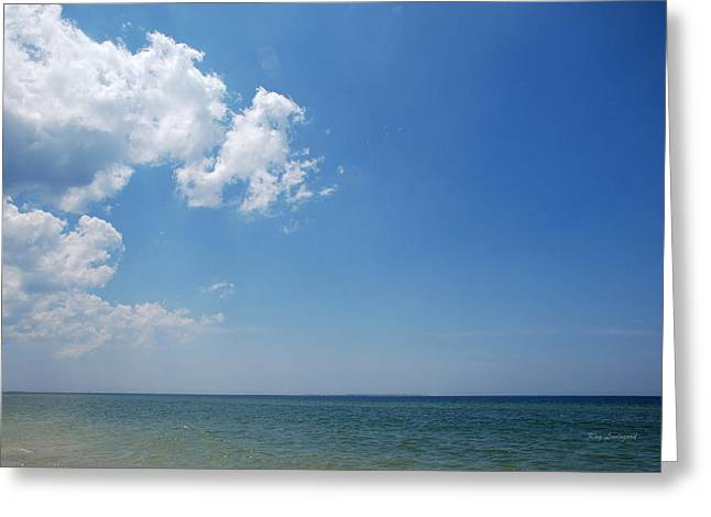Gulf Sky Greeting Card