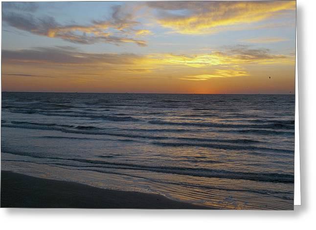 Gulf Sunrise Greeting Card