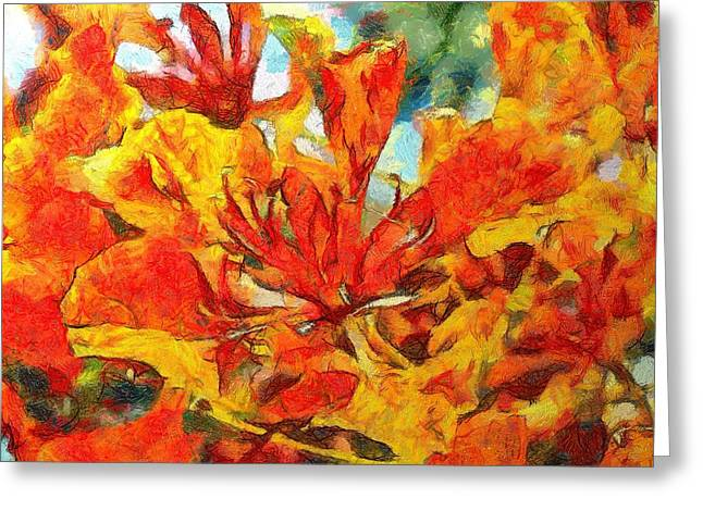 Gulmohar Greeting Card