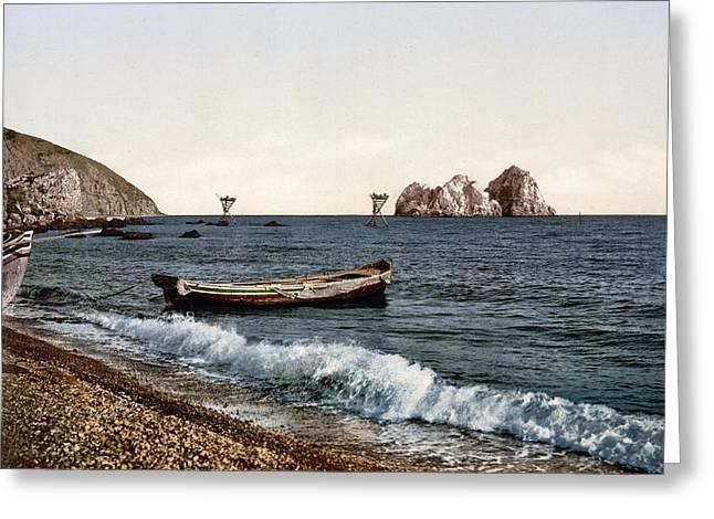 Gursuff - Crimea - Ukraine Greeting Card by Bode Stevenson