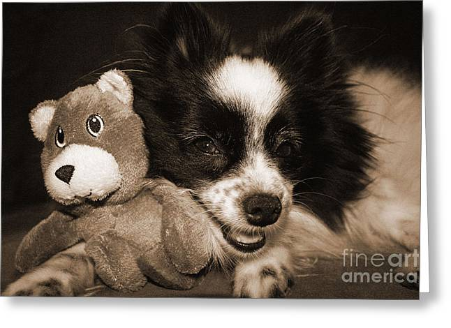 Gypsy With Billy Beaver Greeting Card