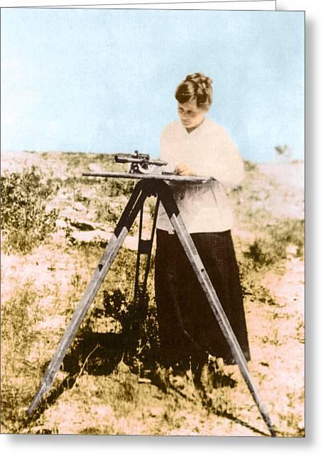 H. H. Adams, American Geologist Greeting Card