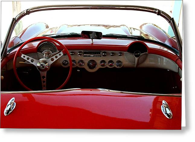Hackberry Corvette Greeting Card