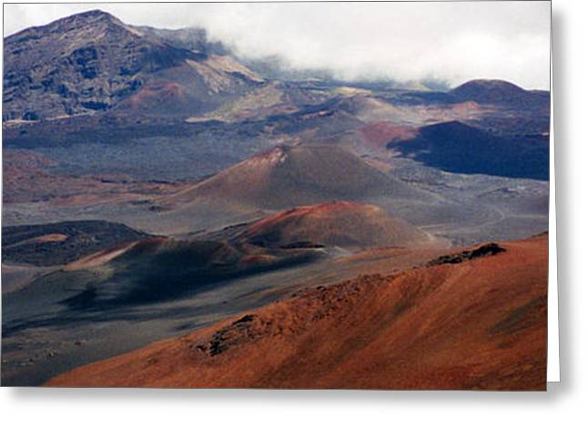 Haleakala Volcano Greeting Card