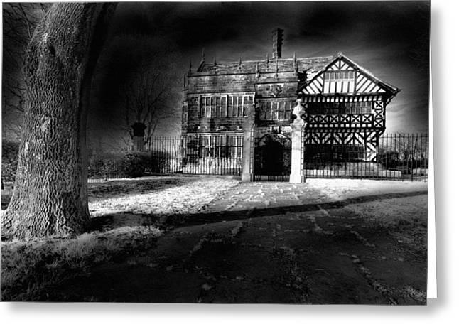 Hall 'ith Wood Manor  Greeting Card by Matt Nuttall