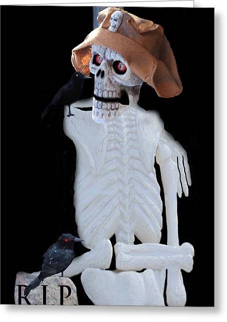 Halloween Card  Greeting Card by Debra     Vatalaro