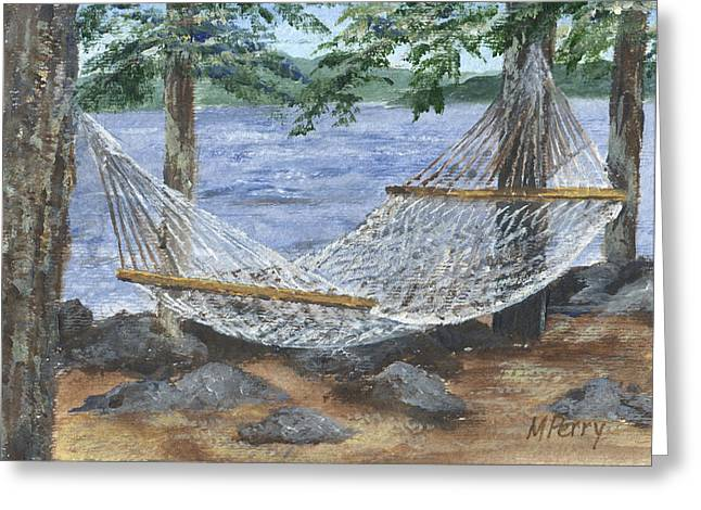 Hammock At Bear Island Greeting Card