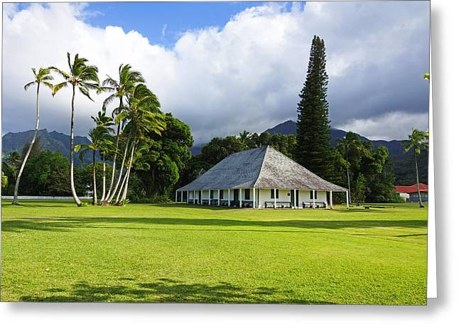 Hanalei Mission House Kauai Greeting Card by Kevin Smith