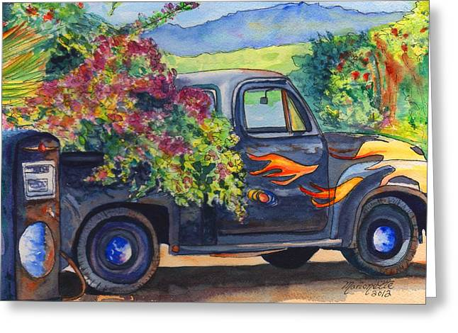 Hanapepe Truck Greeting Card