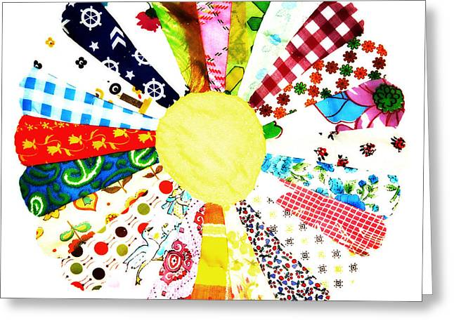 Handmade Quilt Greeting Card by Marilyn Hunt
