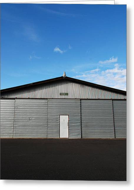 Greeting Card featuring the photograph Hangar 2 by Kathleen Grace