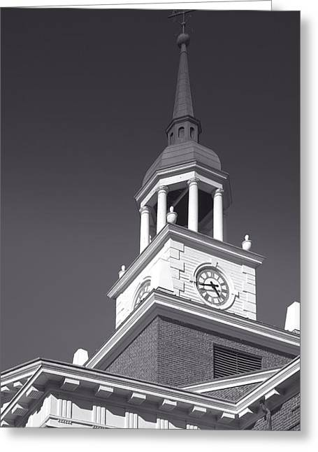 Hanover College I Greeting Card by Steven Ainsworth