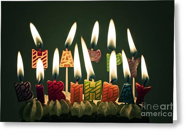 Happy Birthday Greeting Card by Catherine MacBride