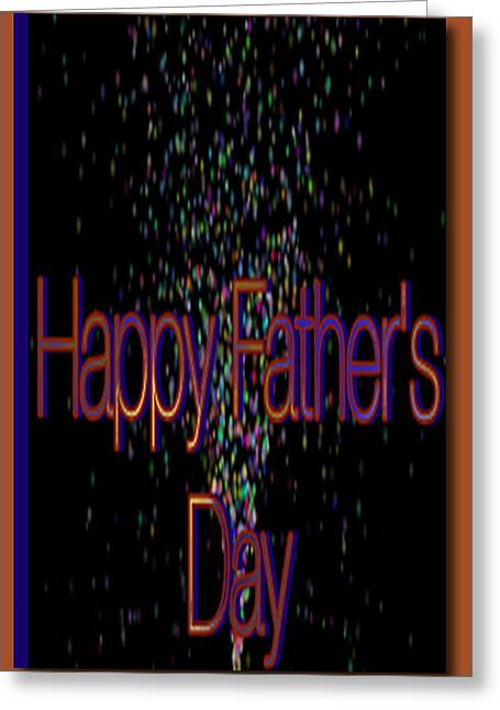 Happy Fathers Day Card Greeting Card