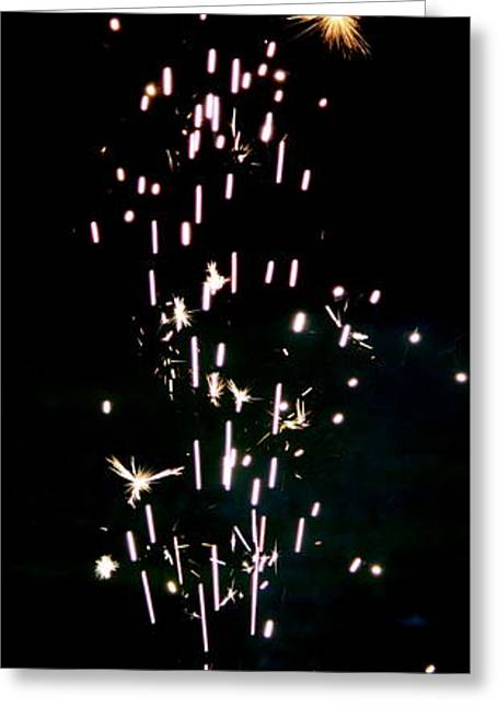 happy Fourth of July Greeting Card by Anne Babineau