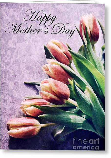 Happy Mothers Day Greeting Card by HD Connelly