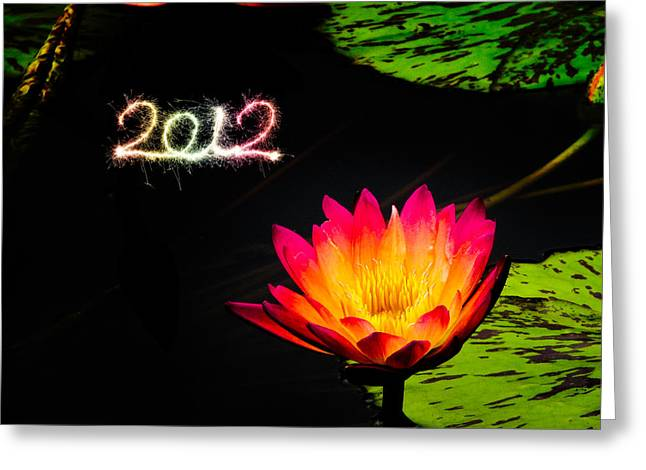 Happy New Year 2012 Greeting Card