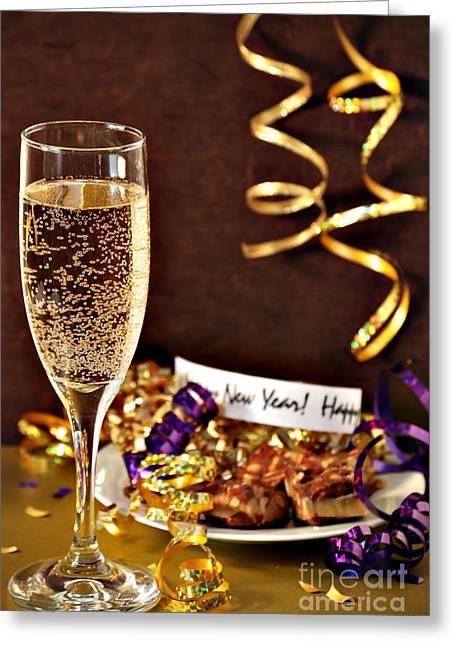 Happy New Years Greeting Card