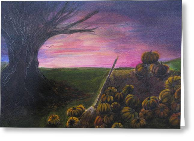 Happy Samhain Greeting Card
