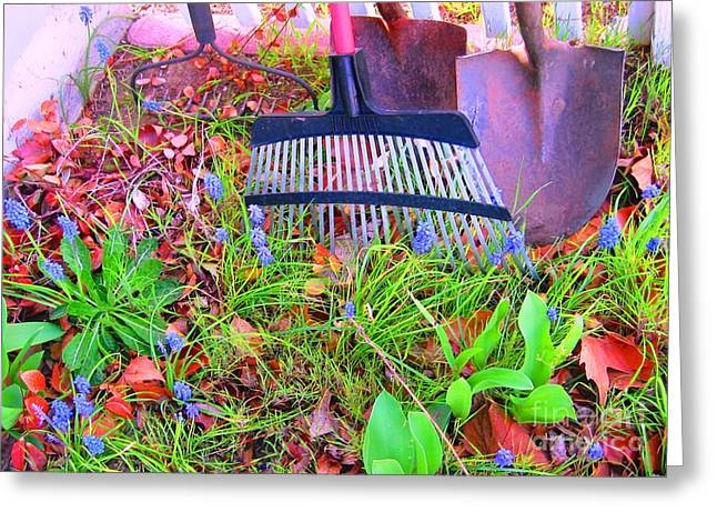 Greeting Card featuring the photograph Happy Spring II by Ann Johndro-Collins
