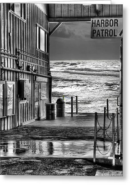Harbor Patrol Greeting Card