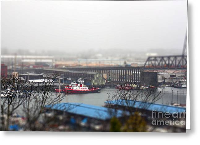 Harbor View Greeting Card by Billie-Jo Miller