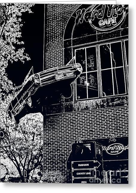 Hard Rock Caddy Greeting Card by Joe Finney