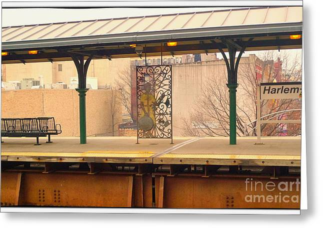 Harlem 2 Greeting Card by Susan  Lipschutz