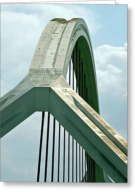 Harp Bridge Greeting Card