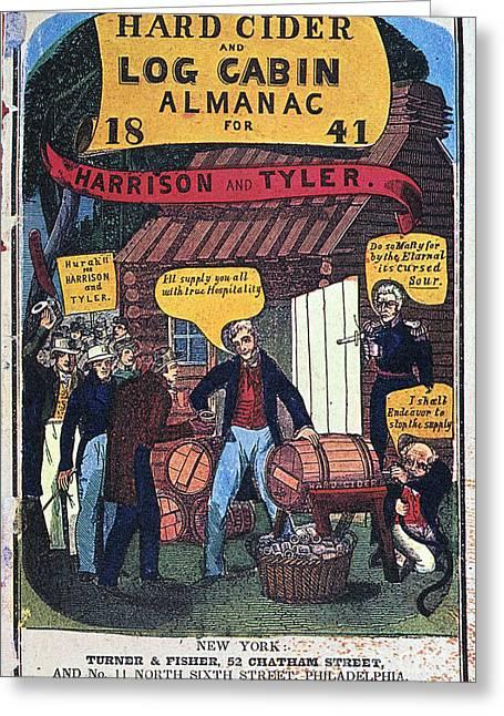 Harrison: Almanac Cover Greeting Card by Granger