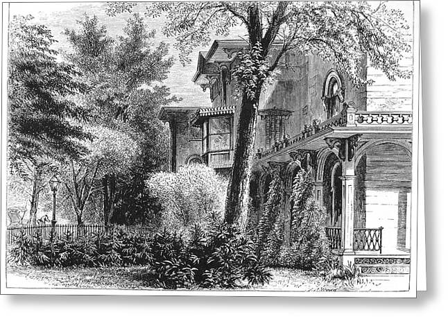 Hartford: Armsear Mansion Greeting Card by Granger